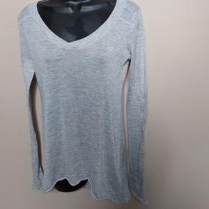 Kristensen du Nord cashmere silk v neck sweater